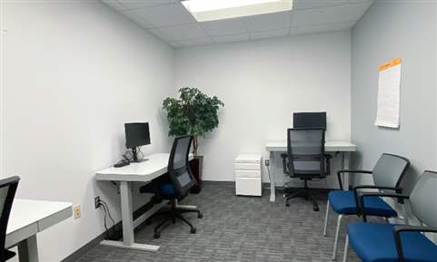 Team Room or Executive Office with Assistant Desk